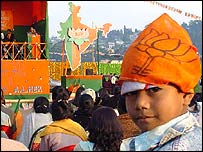 Election rally in Meghalaya