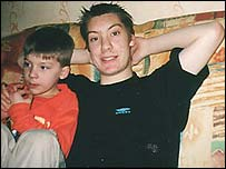 Daniel Trindle and his brother Joseph