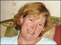 Daniel's mum Christina Anderson
