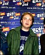 Jonny Buckland at the 2001 Brit Awards