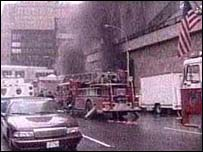 The World Trade Center after the bomb