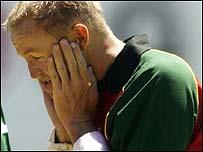 Zimbabwe batsman Andy Flower