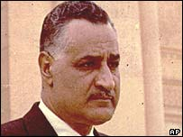 Egyptian President Gemal Abdel Nasser