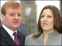 Charles Kennedy and Sarah Gurling