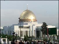 President Saparmurat Niyazov Palace in Ashgabat, Turkmenistan (file picture)