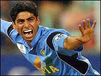 Ashish Nehra set a World Cup record for India