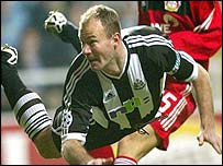 Shearer scored his 14th career hat-trick