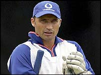 England skipper Nasser Hussain