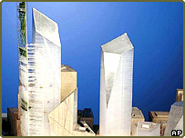 Libeskind design for the WTC site