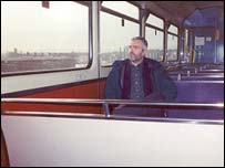 Alan Whitehouse travels on the once weekly train that leaves Denton station near Manchester