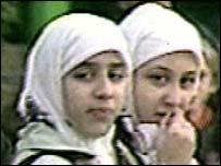 Muslim schoolchildren