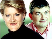 Clare Balding is joined by racing fanatic John Parrott