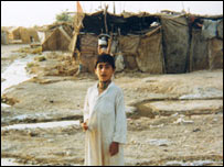 Madan boy in camp in Iran (Image: Amar Foundation)