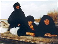 Marsh Arabs in boat (Image: Amar Foundation)