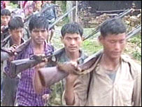 Maoist rebel fighters
