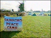 Fairford Peace Camp