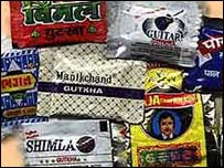 Brands of Indian chewing tobacco