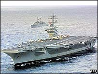 The USS Nimitz