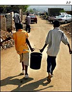 Water-carriers in Johannesburg
