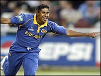 Chaminda Vaas took four for 22