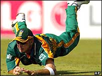 South Africa's Herschelle Gibbs