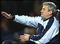 Man City boss Kevin Keegan