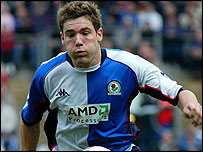 Blackburn goalscorer David Dunn