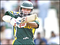 Saeed Anwar hit a century for Pakistan