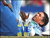 Tendulkar receives treatment