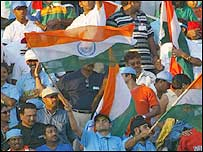 Indian supporters at Centurion