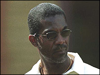 Former West Indies fast bowler Michael Holding