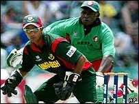 Khaled Mashud playing against Kenya