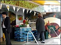 Welsh food trailer, Brussels
