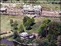 Nicholas Van Hoogstraten's mansion