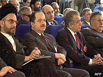Delegates at the Salahuddin meeting