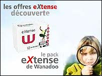 Wanadoo advertisement