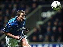 Manchester City defender Richard Dunne