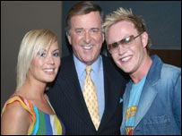 BBC star Terry Wogan with Song for Europe winners Jemini