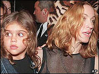 Madonna with daughter Lourdes