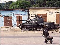 Tank in Brazzaville