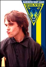 Singer Ian Brown is one of Warrington's celebrity fans