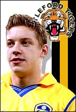 Leeds footballer Alan Smith is one of Castleford's celebrity fans
