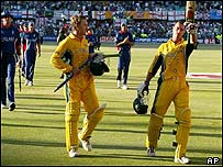 Michael Bevan and Andy Bichel