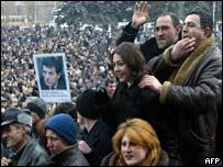 Demirchyan supporters