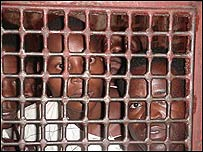 Prison cell in East Africa