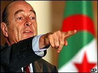 Jacques Chirac in Algeria