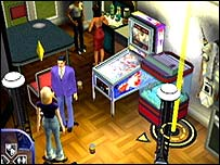 Screenshot from The Sims