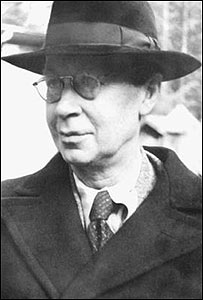 Prokofiev in 1952, photographed by his son Sviatoslav