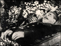 Josef Stalin lying in state, 7 March 1953