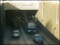 Tyne Tunnel (picture courtesy of freefoto.com)